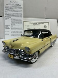 The Danbury Mint 1954 Cadillac Eldorado Convertible 1:24