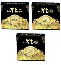3x Oud 24 H Oudh Bukhoor Fragancia árabe Bakhoor incienso ARD al zaafaran