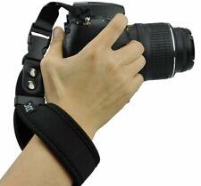 JJC ST-1 BLK Neoprene Wrist Strap for Nikon/Canon/Fujiflim/Sony/Olympus/etc.