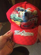TODDLER BASEBALL CAP-DISNEY CARS-LIGHTNING MCQUEEN