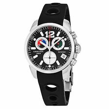 Certina Men's DS Rookie Black Dial Rubber Strap Quartz Watch C0164171705700