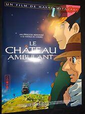 hayao miyazaki  LE CHATEAU AMBULANT !  affiche manga , japon bd dessin
