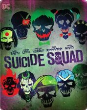Suicide Squad Steelbook 4k and Bl-ray Disc included. No digital copy.