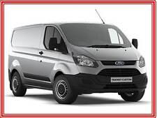 Genuine Ford Transit / Tourneo Custom Black Steel Wheel Covers-Trims-Hub Caps x4