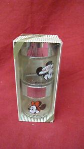 Vintage 1950 Walt Disney Mickey & Minnie Mouse Salt & Pepper Souvenir New in Box