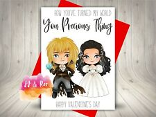 Funny Cute Movie Themed Valentines Day Card: Labyrinth Quote, Jareth & Sarah