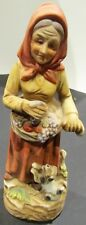 Homeco #1417 Porcelain Woman Figure