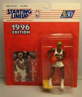 1996  DENNIS RODMAN Green Hair Starting lineup Basketball Figurine CHICAGO BULLS