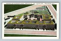 Proposed New Government Buildings, Vintage Washington DC Postcard
