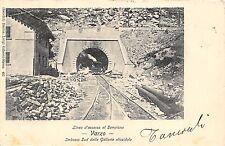 5397) VARZO (VERBANIA) L'INEA D'ACCESSO AL SEMPIONE IMBOCCO SUD DELLA GALLERIA.