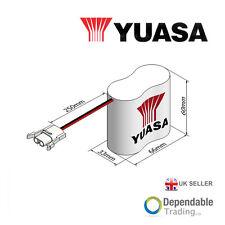 Yuasa 2 Pile Cote À Cote D'urgence Pile - Fourni Avec Câbles