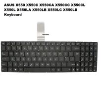 ASUS X550 X550C X550CA X550CC X550CL X551 X551C UK Layout Laptop Black Keyboard
