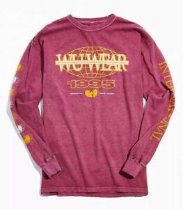 New Wu-Tang Clan Wu Wear International Long Sleeve Vintage Shirt Men's Size XL