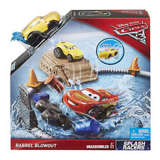 Disney Pixar Cars 3 Splash Racers Barrel Blowout Playset Play Set