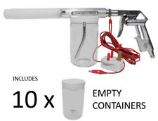 Powder Coating Gun with 10 empty container NordicPulver NP-11 Powder Coat System