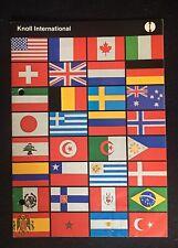 1960's Knoll International Catalog Saarinen Van De Rohe Bertoia Platner Pollock