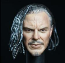 Custom 1/6 Scale Head Sculpt Mickey Rourke IRON MAN 2 IVAN WHIPLASH