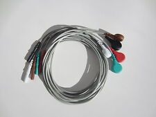 5 lead ECG EKG cable  wire to patient monitor
