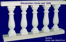 Balustraden Baluster Geländer Zäune Balkon Zaun Säulen Gartenmauer Gartenzaun