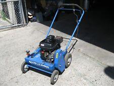 """Bluebird P18 Lawn Dethatcher 18"""" Gas Powered Walk Behind Grass Comber Honda 5.5"""