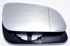 Audi A8 D3 2003-08 Clip On Driver Side WIDE ANGLE HEATED WING DOOR MIRROR GLASS