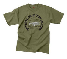 Hemden & T-Shirts US woodland camouflage Army short sleeve tarnshirt shirt tshirt XXLarge Bekleidung