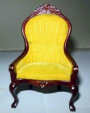 VICTORIAN ARM CHAIR #3696 CONCORD MUSEUM  DOLLHOUSE FURNITURE MINIATURES P4
