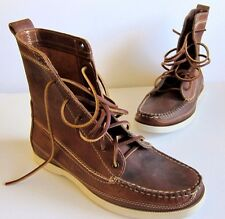 EXCELLENT Red Wing J. Crew Wabasha Leather Mens Boots MSRP $320 SZ 8 E
