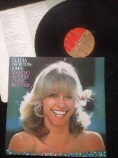Olivia Newton-John - Making A Good Thing Better Vinyl LP EMI EMC 3192 (1977)
