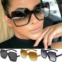 Fashion Women Oversized Square Oval Frame Sunglasses Cat Eye Retro Small Glasses