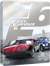 FAST AND FURIOUS 6 - STEELBOOK EDITION (BLU-RAY) con Vin Diesel, Paul Walker
