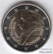 Slovenië 2008 Stgl./ongecirculeerd 2008 2 Euro Primoz Trubar