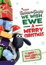 SHAUN THE SHEEP: WE WISH EWE A MERRY CHRISTMAS NEW REGION 1 DVD