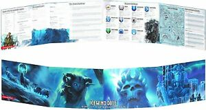 Dungeons & Dragons - Icewind Dale - Rime of the Frostmaiden DM Screen DnD D&D