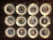 12 Plates- Hans Christian Andersen Plates 1975 Pauline Ellison
