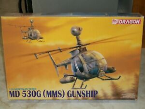 Dragon 1/35 Scale MD 530G (MMS) Gunship