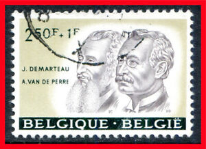 Belgium Semi-postal Stamp Scott B687, Used!! B1216