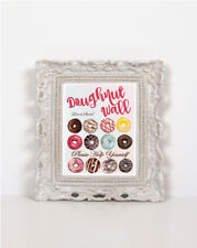 Doughnut Wall Love is Sweet A4 Sign - Frame not Included
