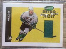 2002-2003 Parkhurst Retro Game-Used Jersey Paul Kariya Anaheim Ducks #RJ-18