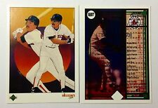 1989 UPPER DECK ERROR DOUBLE BACK-PRINT TEST CARD WADE BOGGS NORMAL FRONT #E83a