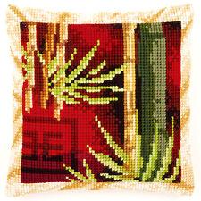 Vervaco Cross Stitch Cushion Kit: Bamboo 1