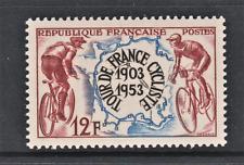 FRANCE N** YT 955 TOUR DE FRANCE CYCLISTE NEUF SANS TRACE DE CHARNIERE