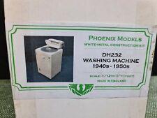 dolls house accessories metal phoenix 40s/50s washer kit  1.12th F