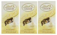 Lindt LINDOR White Milk Chocolate Truffles 5.1 oz - 3Packs