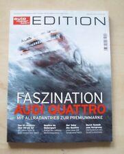 Auto Motor und Sport Edition Sonderheft Faszination Audi quattro ams Urquattro