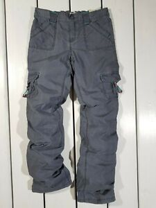 New Old Navy Kids Pants Size XL Gray Cargo Trousers