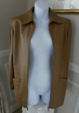 BALLY Couture Women's Designer Blazer/Leather Jacket VTG style GOSTAR NEW