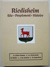 Riedisheim Site Peuplement Histoire CLAERR-STAMM EICHENLAUB ... Alsatia 1997