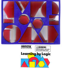 Invicta Education~LEARNING BY LOGIC~Educational Pattern blocks / shapes