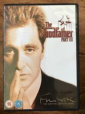 Al Pacino THE GODFATHER PART III / 3 ~ 1990 Gangster Crime Saga Classic  UK DVD